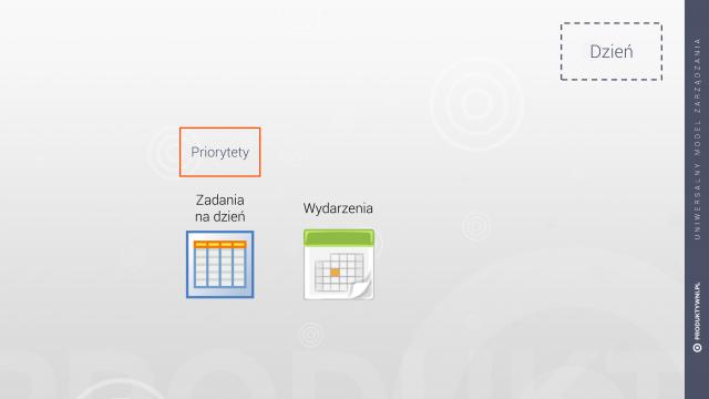 Zorganizować swój dzień - priorytety