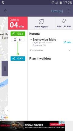 Darmowe aplikacje na Androida - Jak dojadę