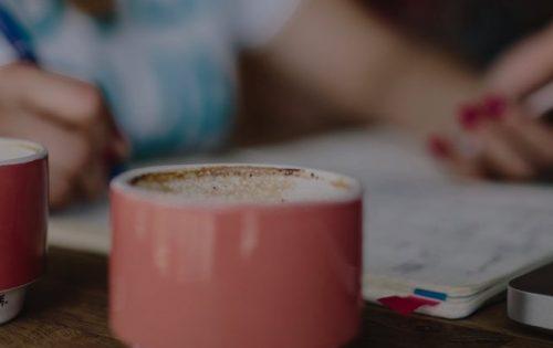 Pracować efektywniej dzięki kawie - okładka