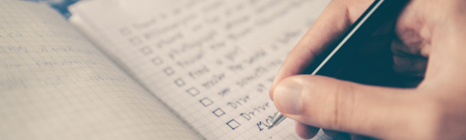 Lista zadań - okładka blog