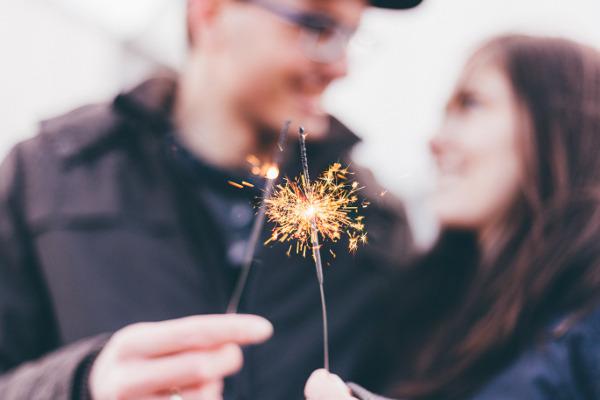 Postanowienie noworoczne - świętowanie