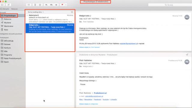 inbox zero - apple mail