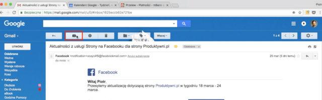 inbox zero - gmail archiwizuj